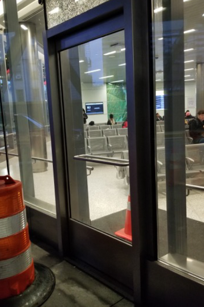 Single Leaf Glass Doors
